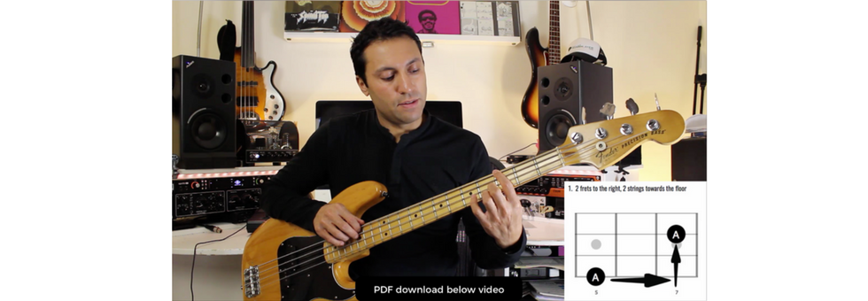 4 Very Useful Octave Patterns For Bass Guitar