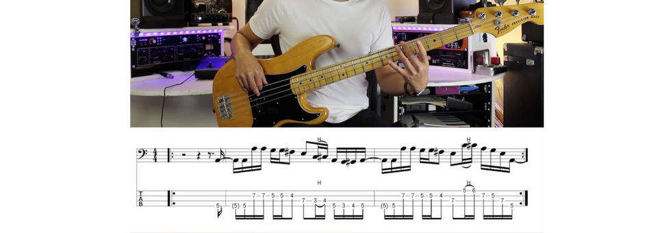 5 Examples Of Different Feels On The Bass Guitar