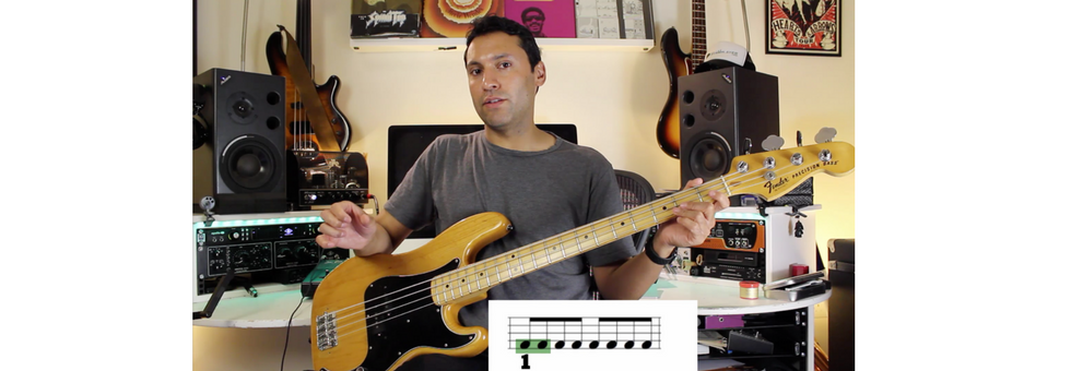 Reading Music On The Bass Guitar: The Very Basics - Counting