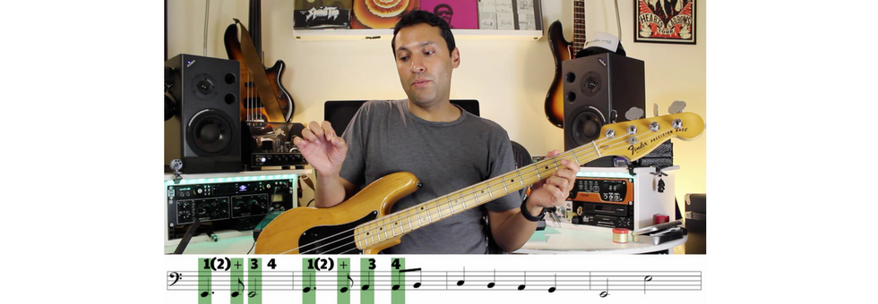 Reading Music On The Bass Guitar: The Very Basics - Reading Exercises