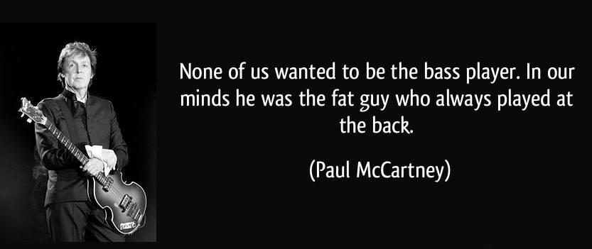 Paul McCartney Bass Guitar Meme