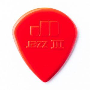 Dunlop jazz III plectrum