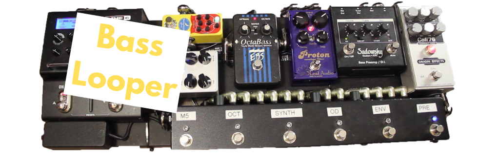 Bass Guitar Effects Tip Use A Looper Pedal