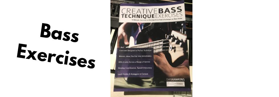 Creative Bass Technique Exercises - 7 Basslines