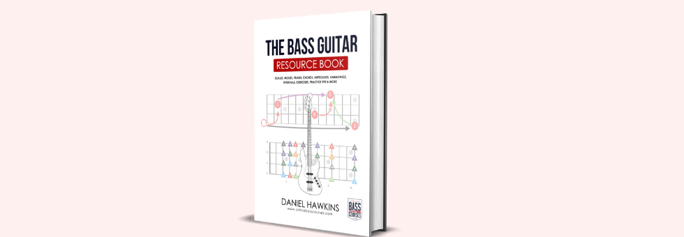 FREE Bass Book Scales, Modes, Triads, Chords, Arpeggios, Harmonics, Intervals, Exercises, Practice