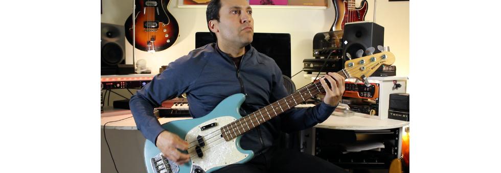 Fender JMJ Road Worn Mustang Bass (Justin Meldal-Johnsen) – Fingers:Plectrum:Slap:Effects
