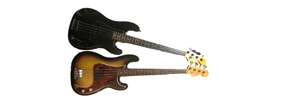 1968 Fender Precision vs Warmoth P Bass (1)