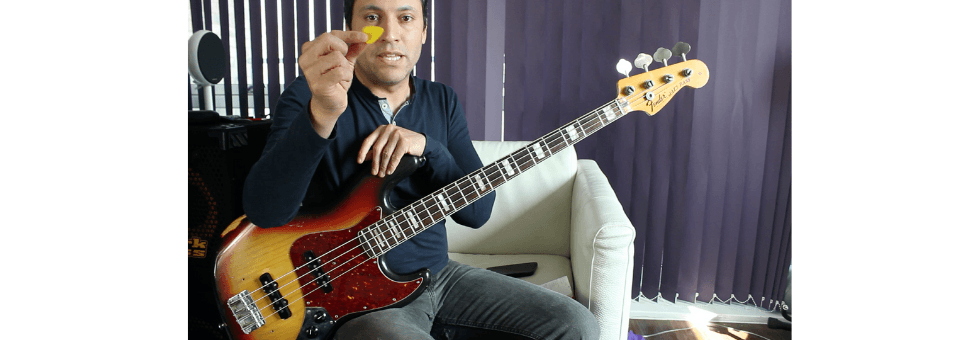Bobby Vega - Pick Techniques. Bass Guitar Lesson