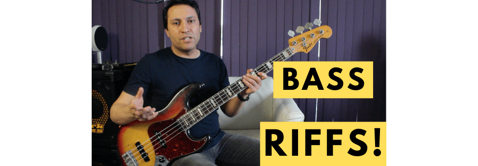 How To Create BASS RIFFS- 4 Step Process