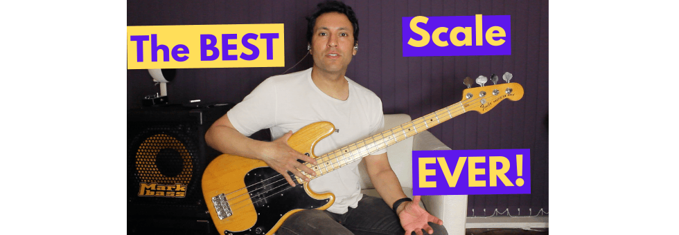 The Major Pentatonic Scale For Bass Players-FILLS:SOLOS:BASSLINES!