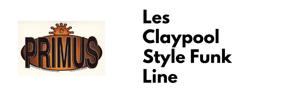 Les Claypool-Primus Style Slap Bass Line