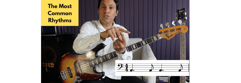 The Most Common Rhythms & How To Make Bass Lines With Them (Also How To Play In Time)