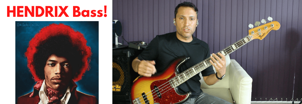 Learn This Jimi Hendrix-Style BASS Line