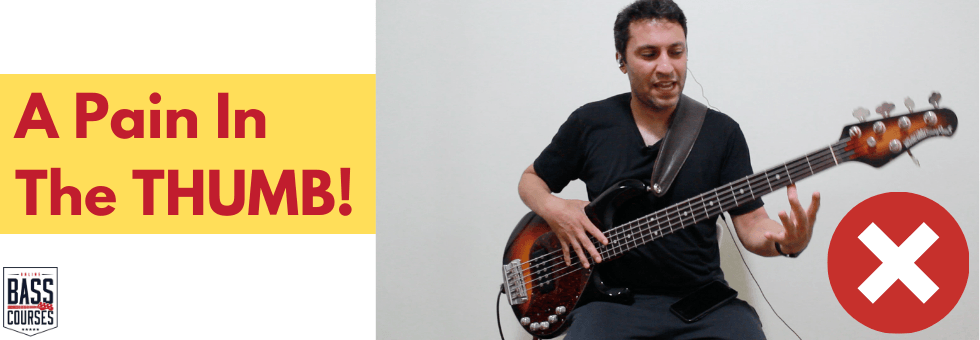 Q&A Pain In Thumb When Playing Bass Guitar
