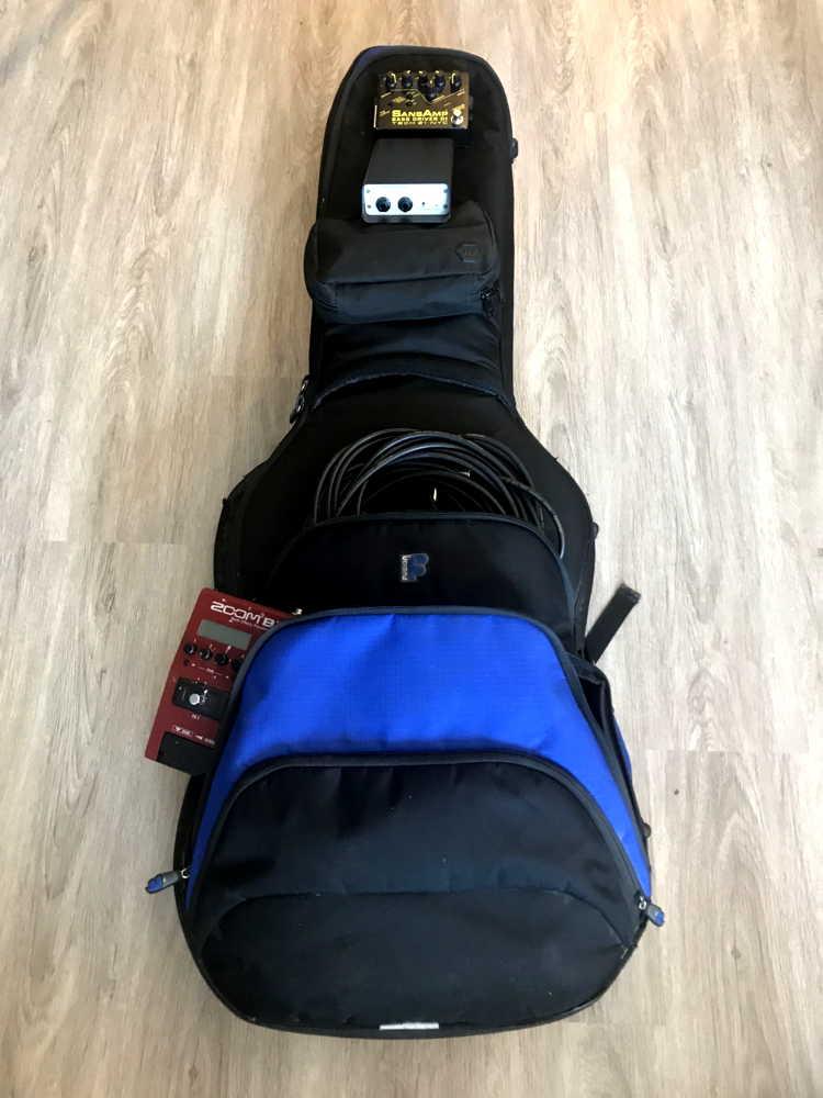 Remote Bass Session Rig - Fusion F1 Gig Bag Storage