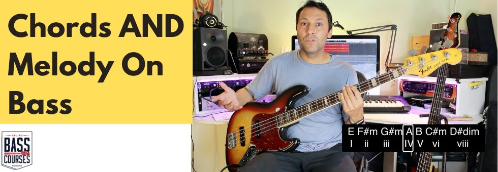 How To Write Melodic Bass Lines (CHORDS + BASS SOLO)