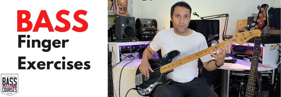 Finger Exercises For Bass Players!