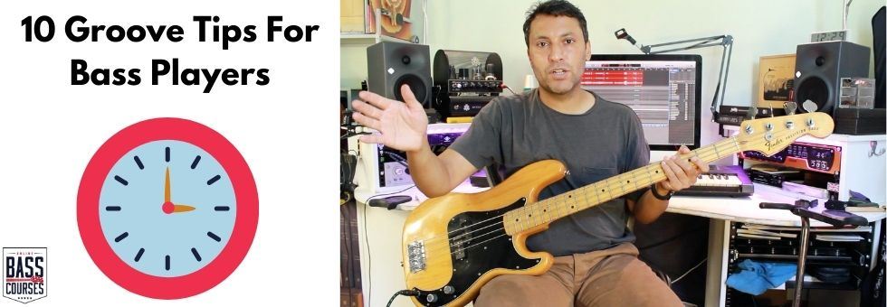 10 Ultimate Groove:Feel:Timing Tips For Bass Players