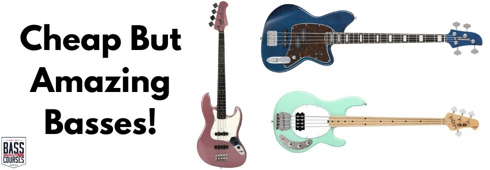 Cheap But Amazing Basses You Should Try!