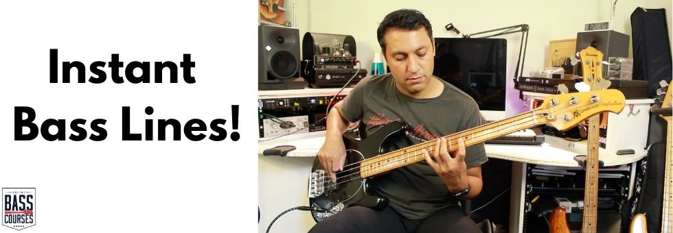 Improvise Flowing Bass Lines On The Spot!