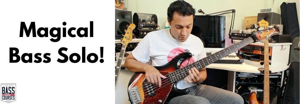 Try This! Beautiful Bass Solo Chord Progression