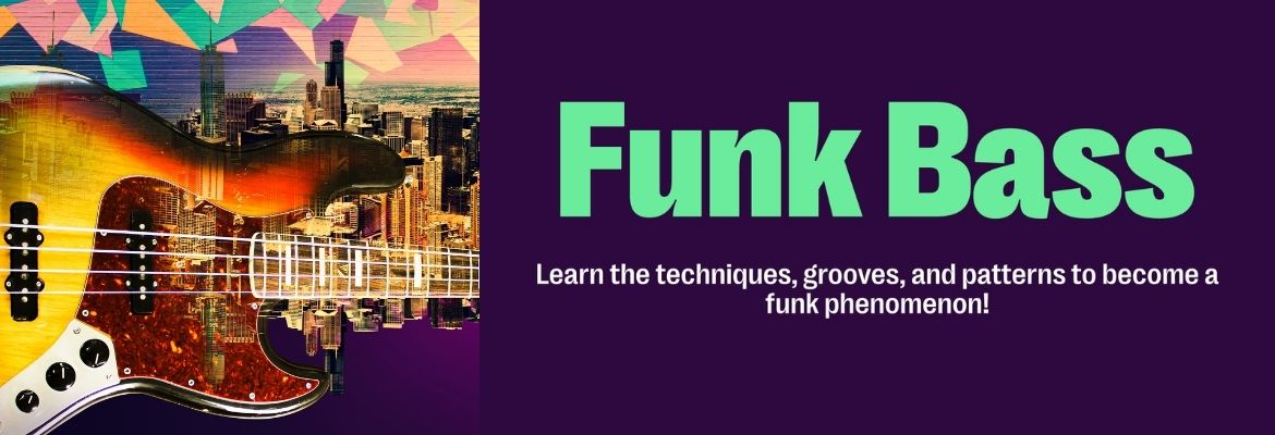 Funk Bass Guitar Course
