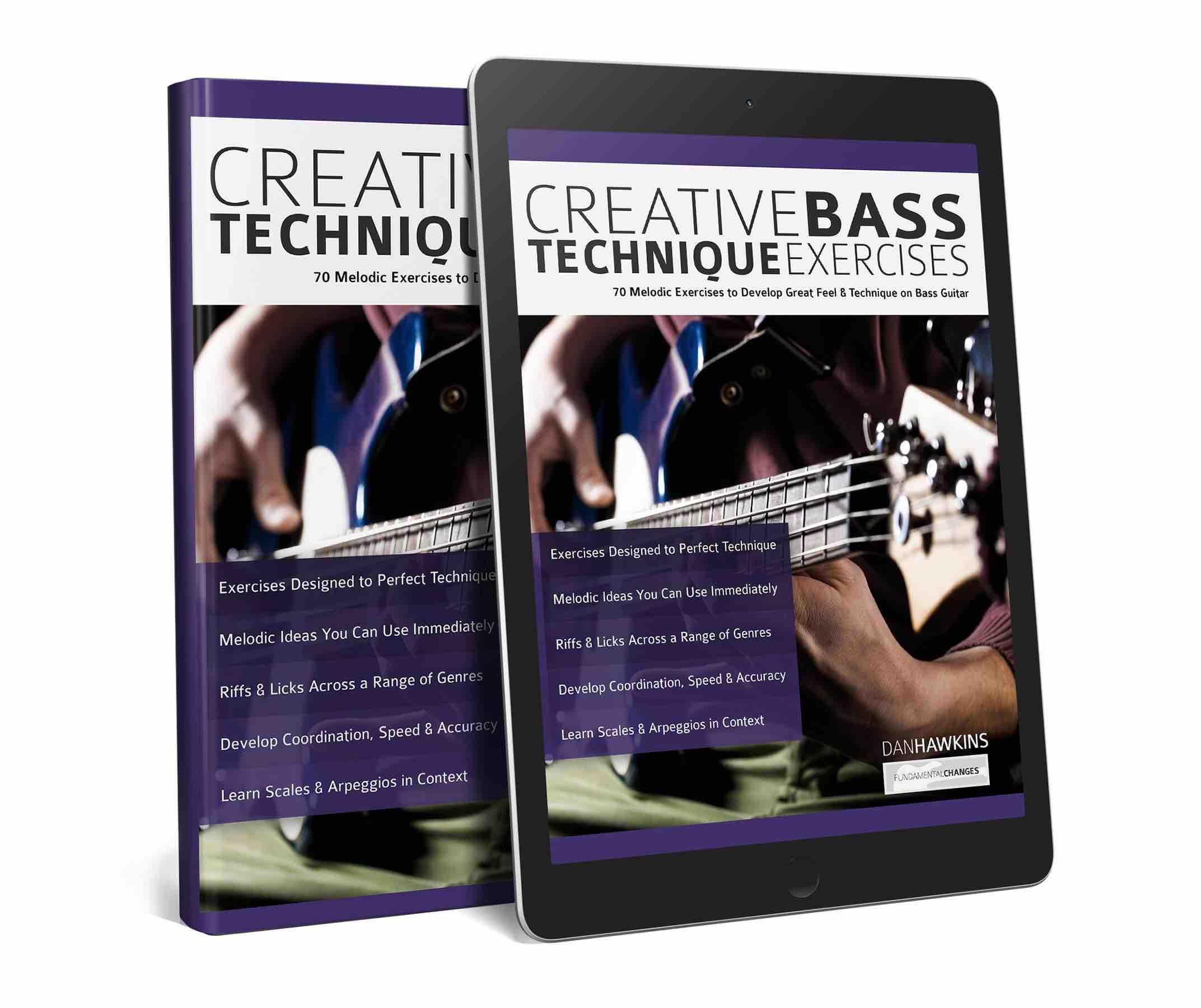 Creative bass technique exercises dan hawkins