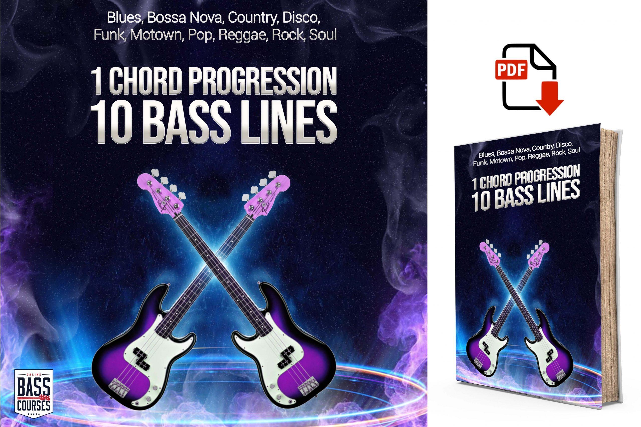 1 Chord Progression 10 Bass Lines