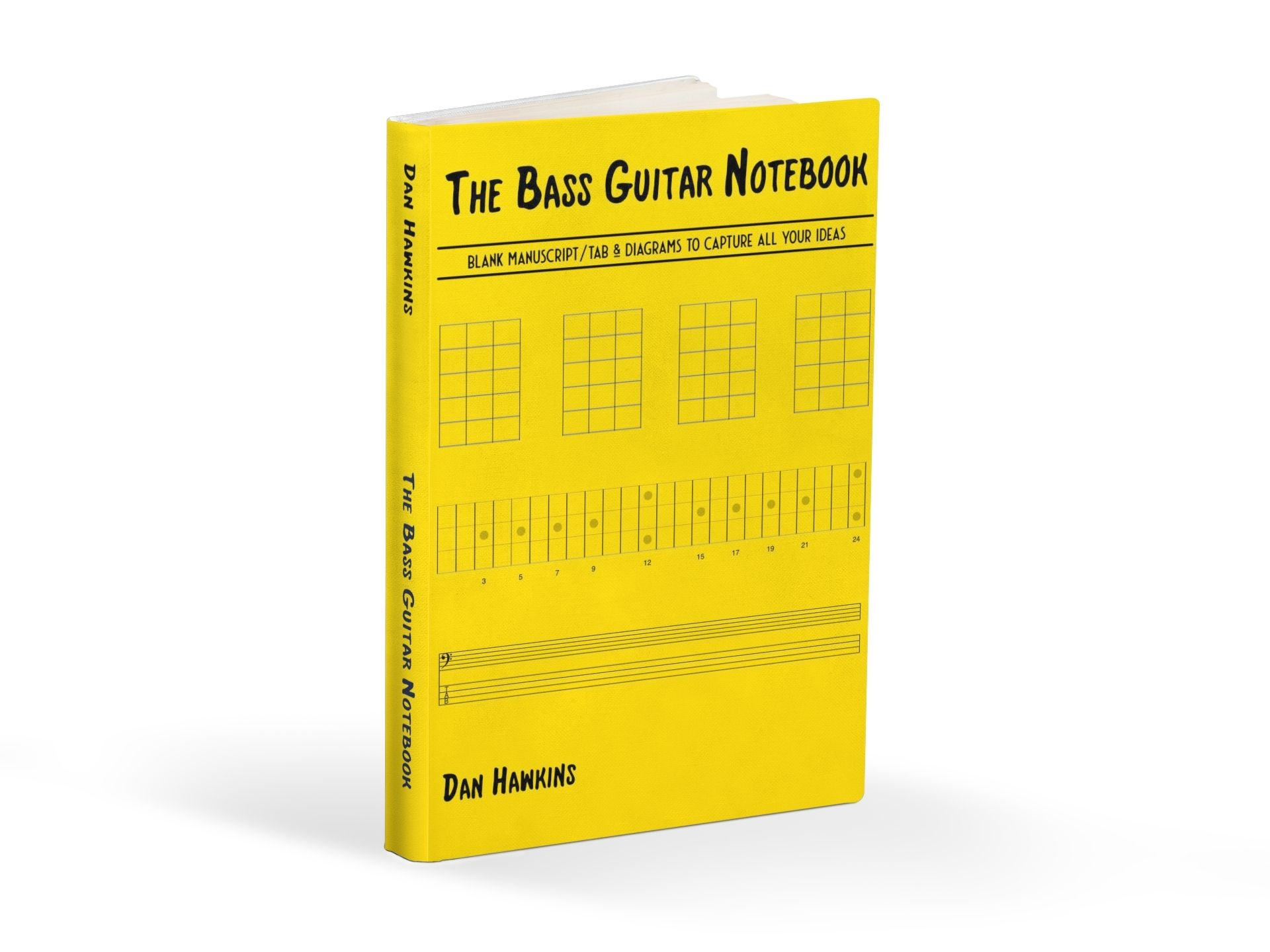 The bass guitar notebook