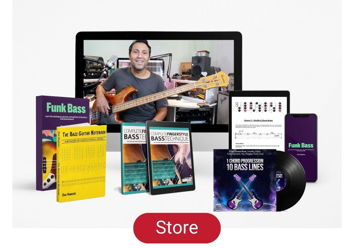 Online Bass Courses Dan Hawkins Bass Store